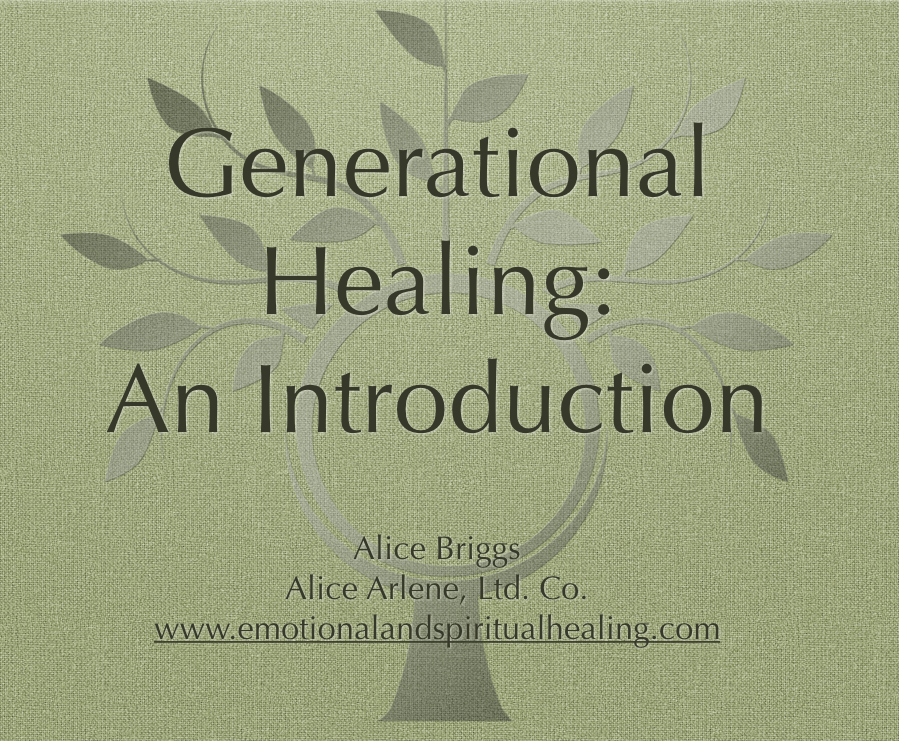 Generational Healing Webinar Introduction Free
