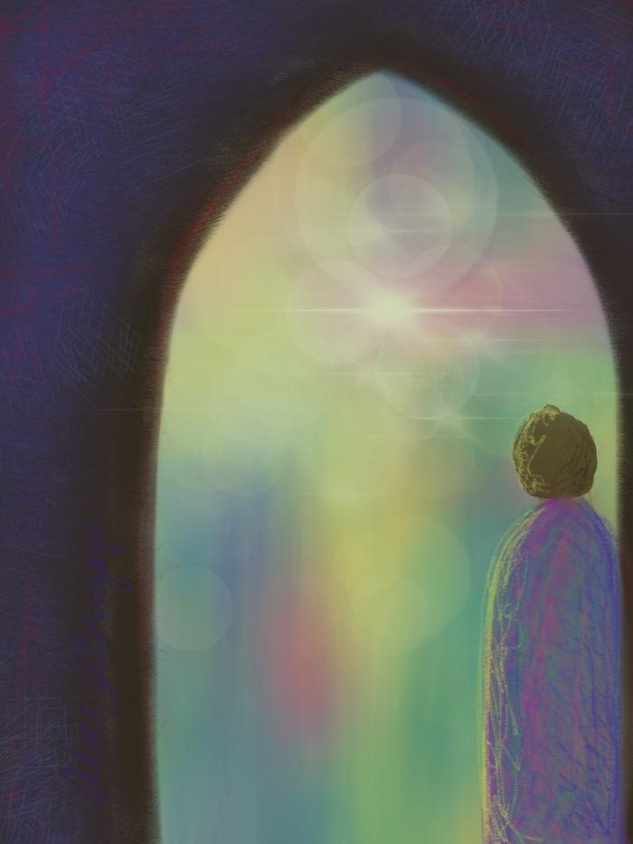 Imagination Learning to See in the Spirit Adventure