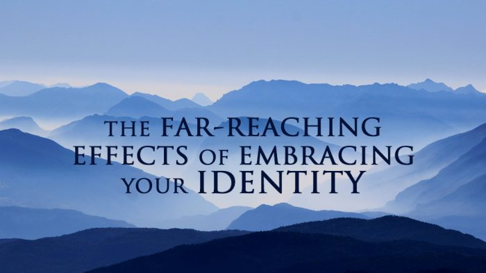 Far Reaching Effects of Embracing Your Identity Inheritance Birthright Freedom